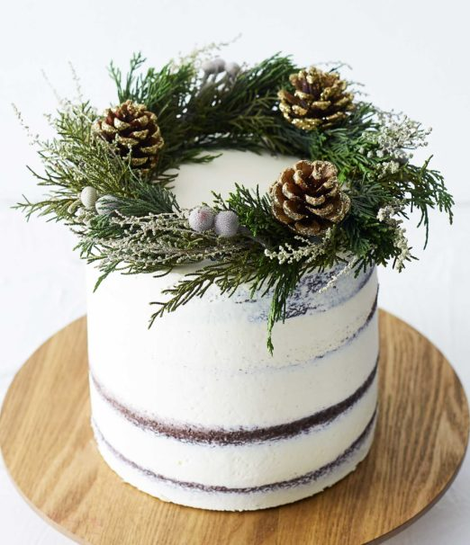 Best Christmas Dessert - Chocolate Mint Rustic Cake Online - Cape Town - The Velvet Cake Co (2)