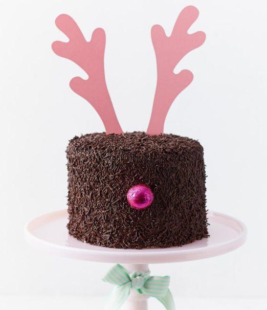 Best Christmas Dessert - Deary Chocolate Mini Cake Online - Cape Town - The Velvet Cake Co (3)