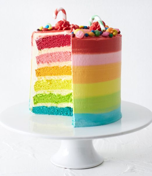 Best Christmas Dessert - Rainbow Candyland Cake Online - Cape Town - The Velvet Cake Co (4)