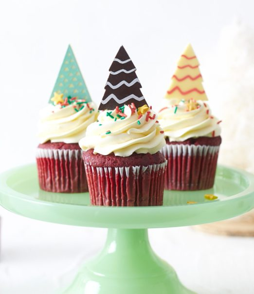Best Christmas Dessert - Red Velvet Meringue Mini Cake Online - Cape Town - The Velvet Cake Co (2)