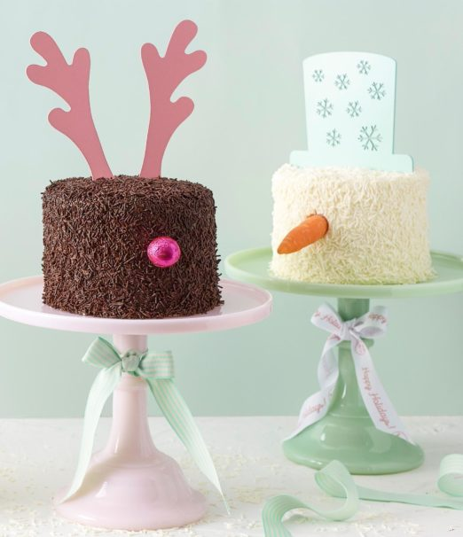 Best Christmas Dessert - Snowy and Dearly Mini Cake Online - Cape Town - The Velvet Cake Co(5)