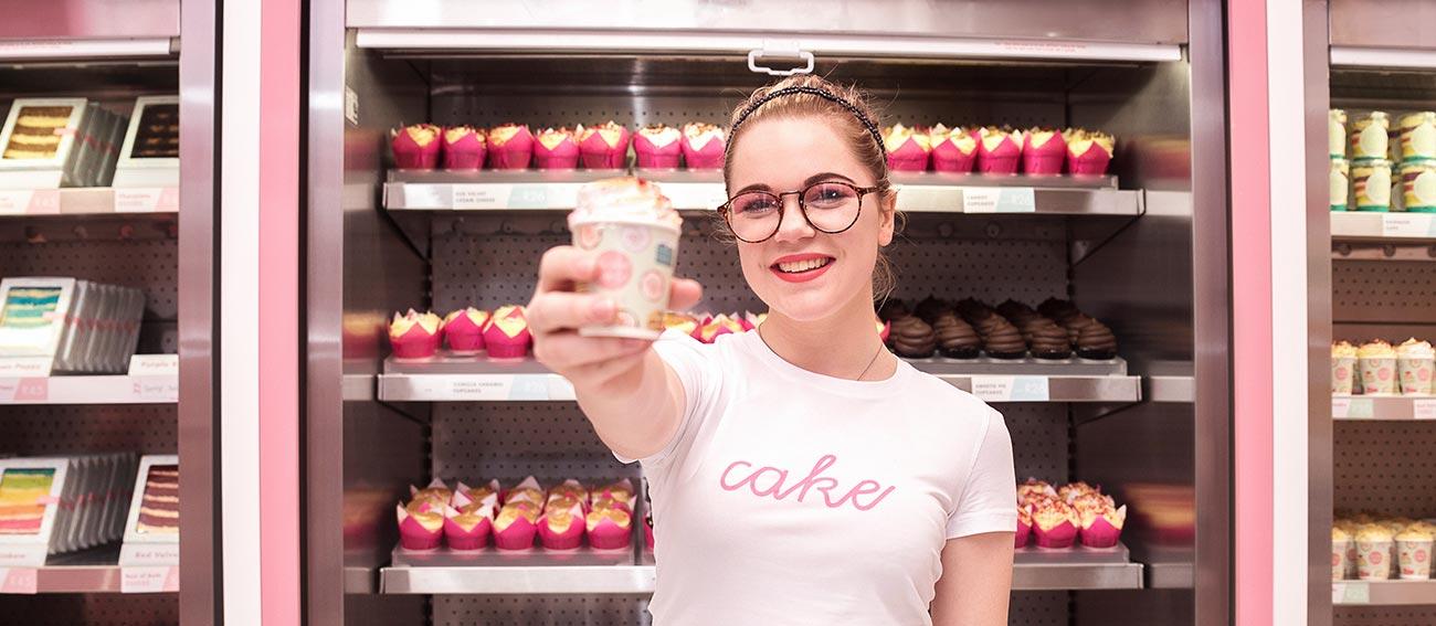 Work at the Velvet Cake Co