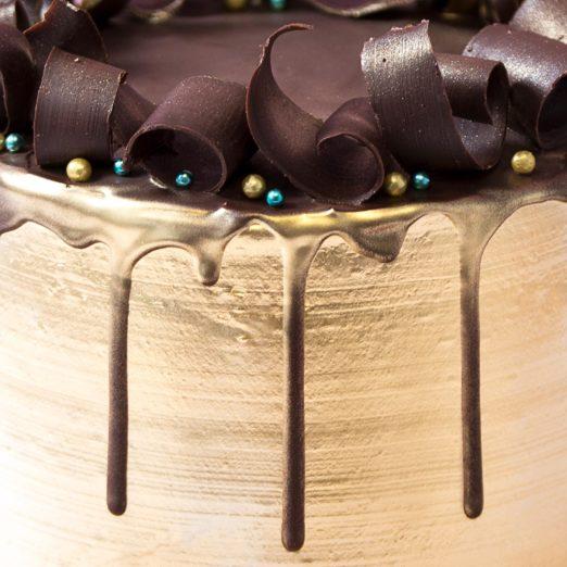 Gold Cake online - Cape Town - The Velvet Cake Co (6)