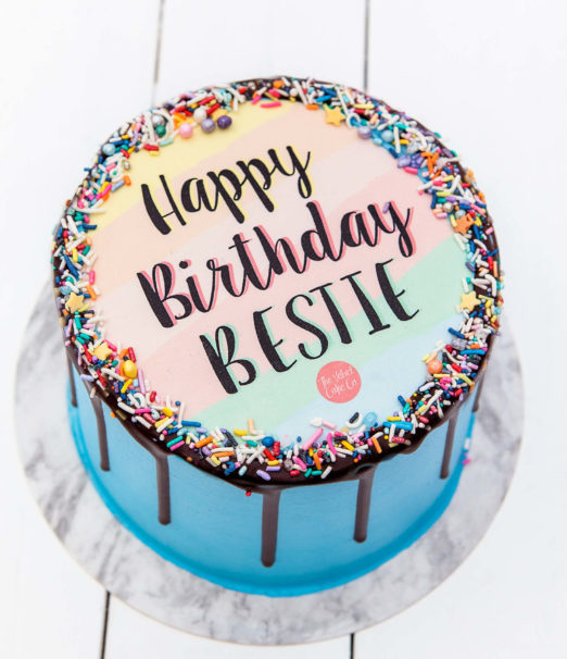 Quirky Birthday Quote Cakes Online - The Velvet Cake Co - Cape Town 2